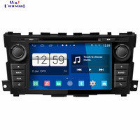 WANUSUAL 2017 Car Styling 8'' Android 4.4.4 GPS Navigation for Nissan Teana 2013 Tape Recorder with WIFI BT 3G TV 1024*600 Maps