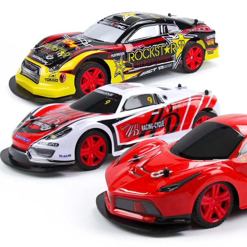 Nitro Rc Car 4wd Remote Control Toys For Children Rc Drift Radio Control Educational Rc Toys Glow Dark Speed Racing Car Toy 1:10