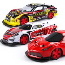 Nitro Rc Car 4wd Remote Control Toys For Children Rc Drift Radio Control Educational Rc Toys Glow Dark Speed Racing Car Toy 1:10