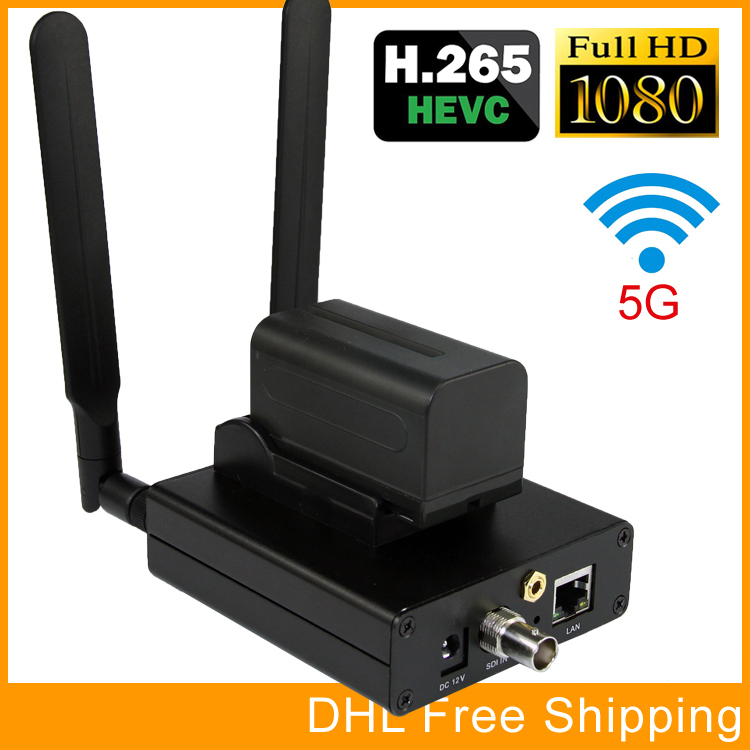 H.265 / HEVC H.264 / AVC SDI WIFI Encoder Suport HD-SDI 3G-SDI Suport - Audio și video acasă