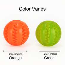 PaiPaitek Dental Treat Pet Toy Ball Chewing Training Playing Pet Toy Ball Rubber Teeth Cleaning Pet Toy Ball