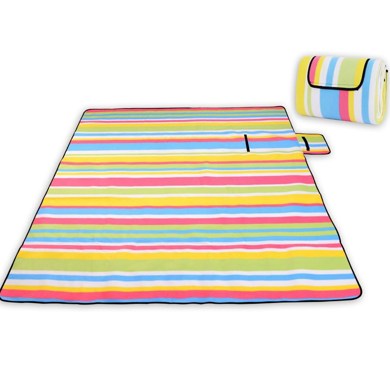 200*200cm beach mat Thicken Waterproof Moistureproof Folding Camping Mat Large Cheap Picnic Blanket Outdoor Tent Sleeping Pad