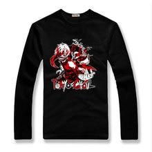 Hot Anime de Tokio Ghoul Kaneki Ken Amante Unisex Informal de Algodón de Manga Camiseta Delgada Camiseta del traje de Cosplay
