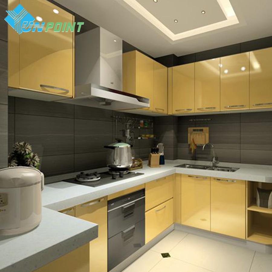 60cmX10m Kitchen Solid Color DIY Decorative Film Furniture