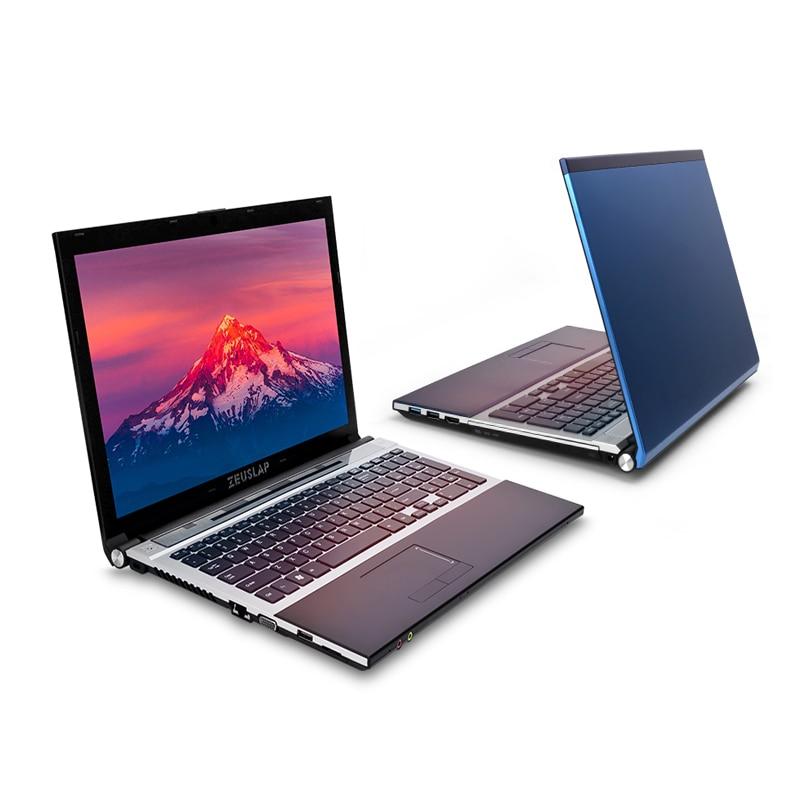 ZEUSLAP 15 6inch intel i7 8gb font b ram b font 750gb hdd Dual Core 1920x1080