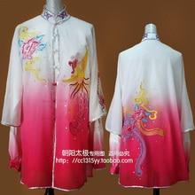 Customize Chinese Tai chi uniform taiji sword clothes kungfu font b clothing b font Martial arts
