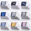 2014 Hot venta limitada rayas adultas envío gratis americano hombres de seda de la raya corbata vestido de boda corbatas 9 cm caja de regalo