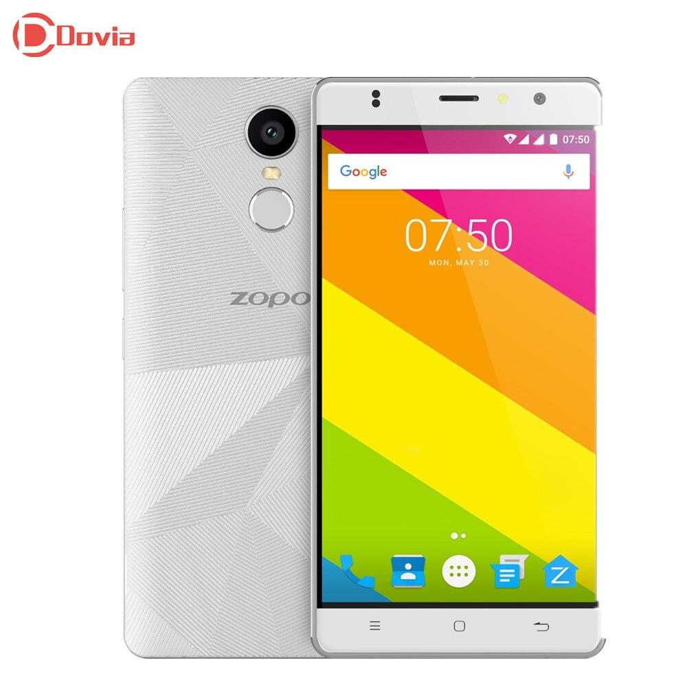 Zopo mt6737 hero 2 android 6.0 5.5 pulgadas 4g smartphone quad Core 1 GB RAM 16
