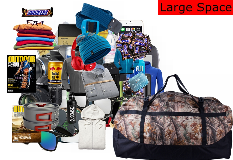 Samstrong Tote 80L Ашық Carry Bag Өзін-өзі - Спорттық сөмкелер - фото 6