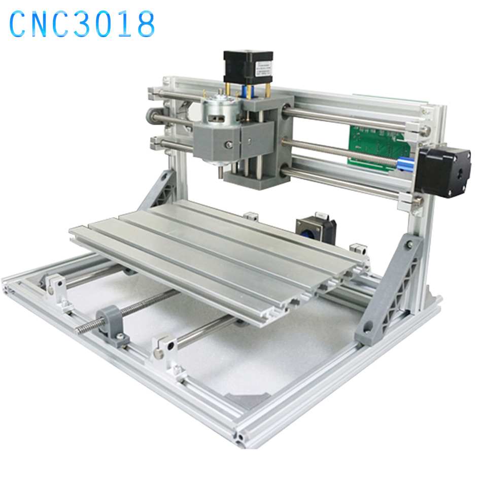 CNC 3018 DIY CNC Engraving Machine Laser Engraving PVC PCB 3 Axis Milling Machine Wood Router GRBL Control CNC3018 daniu 3018 3 axis grbl control 500mw laser diy cnc router milling engraving machine working area 30x18x40cm