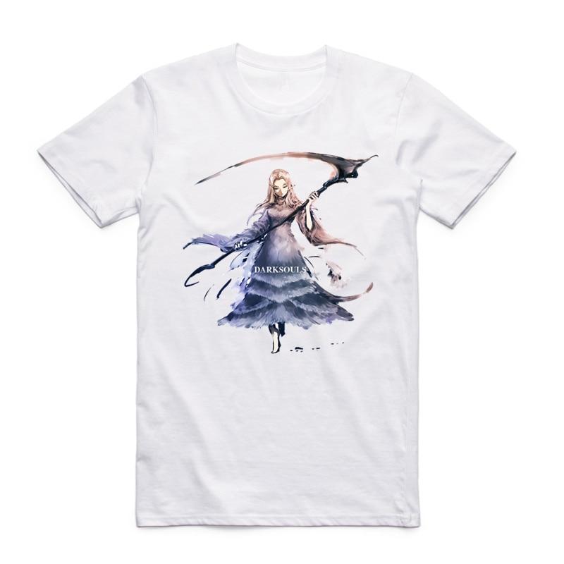 S-XXXL Camiseta Dark Souls para hombre friki Camiseta de manga corta - Ropa de hombre - foto 3