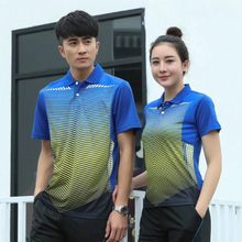 Sports Quick Dry Breathable Badminton Shirts,Women/Men Table Tennis Game Running Training Sport Short Sleeve Polo T Shirts