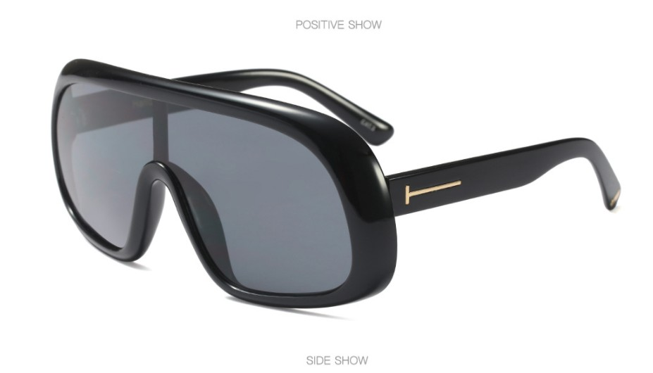 ecad6cda2ea Detail Feedback Questions about 45558 Square Luxury Sunglasses ...