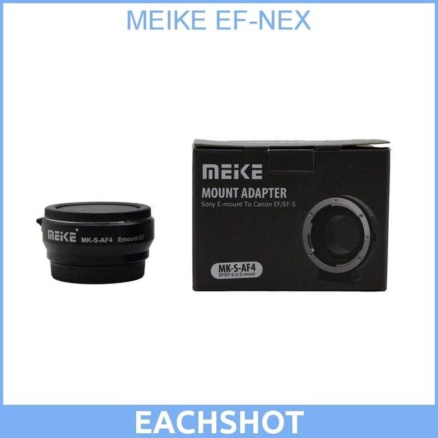 МАЙКЕ Автофокус EF-NEX Электронные Смарт-Адаптер для Canon EF EFS объектив для Sony NEX E Mount NEX-F3/NEX-7/NEX-6/A7/A7R/A7S