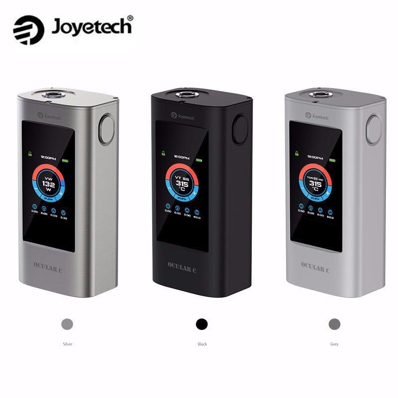 Original Joyetech Ocular C Mod 150W Box Mod Powred by Dual 18650 Batteries Support Bluetooth touchscreen Mod in stock