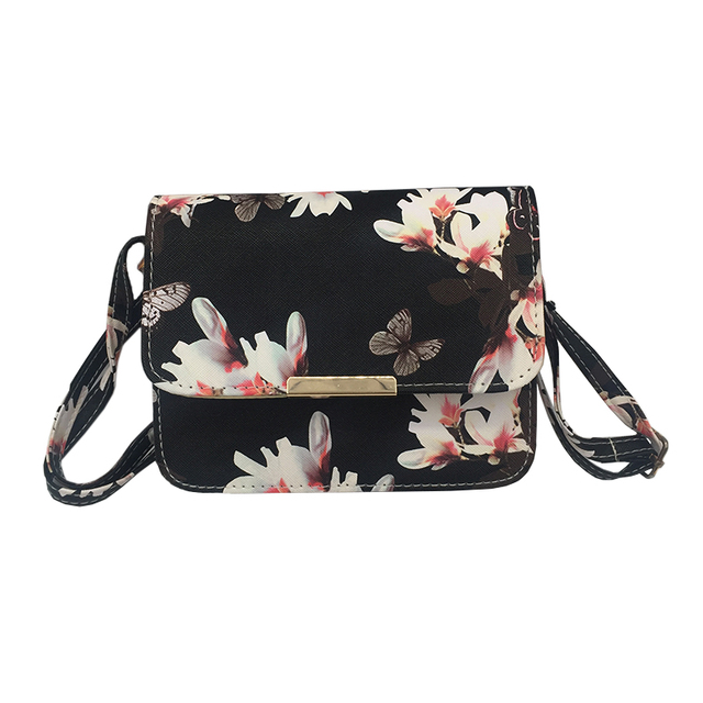 Women Floral Leather...