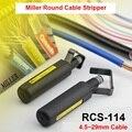 Envío libre RCS-114 cable stripper fibra óptica herramienta, Miller RCS-114 Cable Redondo Cortadora Cubierta del Cable de fibra óptica Stripper