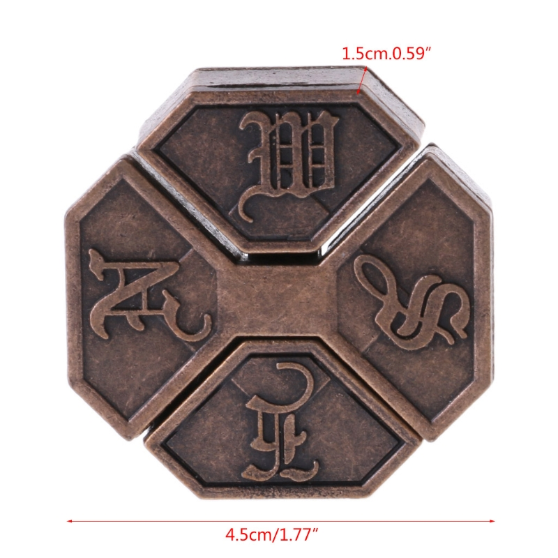 Puzzle Alloy Box Lock Brain Teaser IQ Test Toys Adults Children Kids Gifts Toy Games Puzzles Toy Child Gift