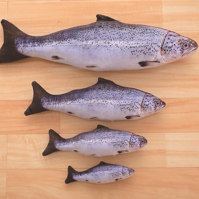 3d Kreatif Simulasi Ikan Mas Ikan Mainan Mewah Kartun Boneka Boneka