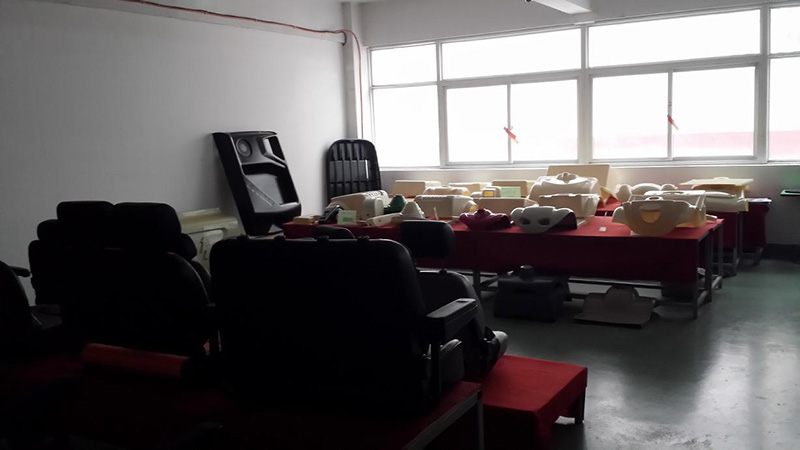 seats and ABS body manufacturing
