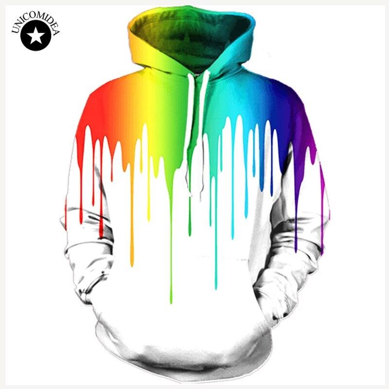 Tie-dye Colorful Print Women//Men Funny 3D Hoodie Casual Sweatshirt Pullover Tops