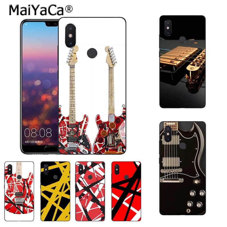 f48a59da5e6 Detail Feedback Questions about MaiYaCa Eddie Van Halen Graphic Guitar  Luxury Fashion 2D Phone Case for xiaomi mi 8 se 6 note2 note3 redmi 5 plus  note5 ...