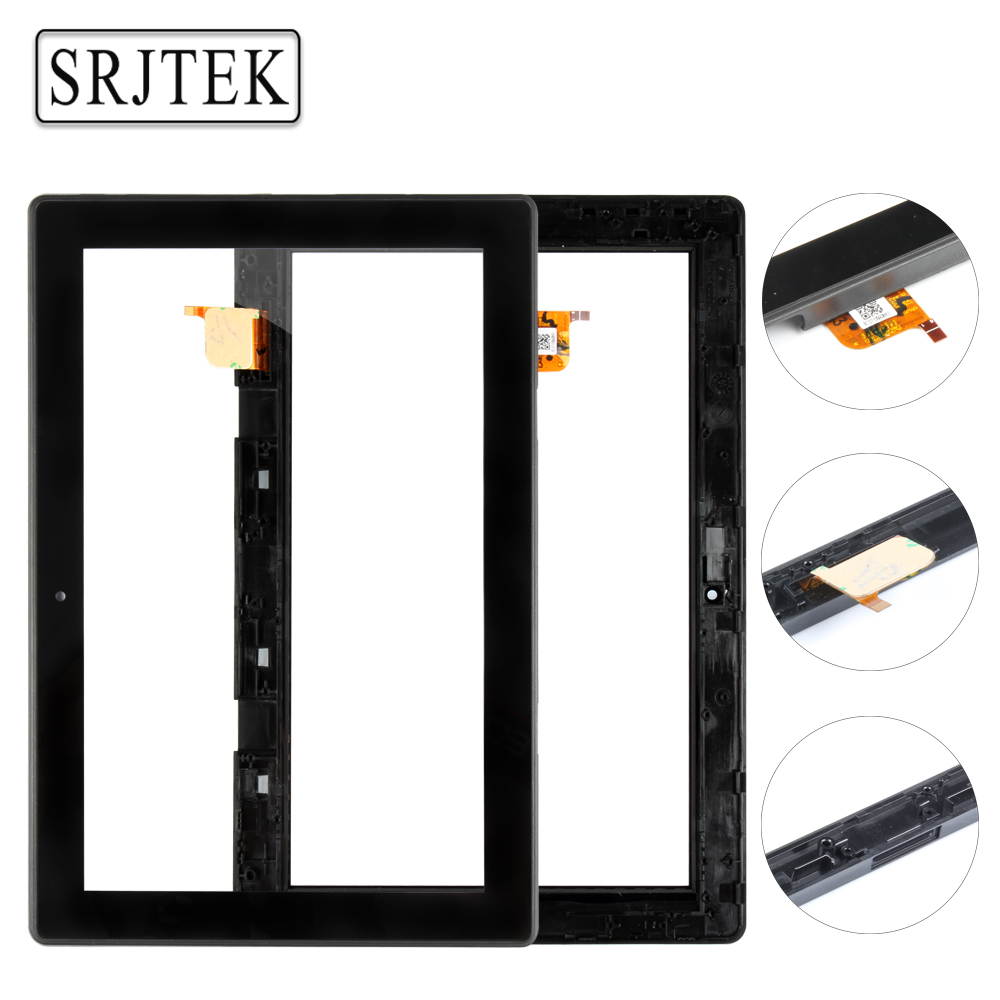 Srjtek 10.1 Touchscreen For Lenovo MIIX 310-10ICR MIIX 310 10ICR Touch Screen Digitizer Sensor Panel Tablet Replacement Parts bluetooth keyboard for lenovo miix 300 10 8 miix 310 320 tablet pc wireless keyboard miix 4 5 pro miix 700 miix 510 720 case