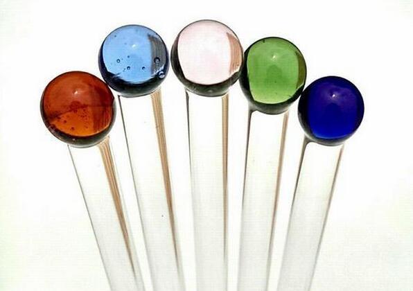 Colored Cocktail Drink Glass Mixer Rod Bar Puddler Muddler Stirring Mixing sticks Ladle Stirrer
