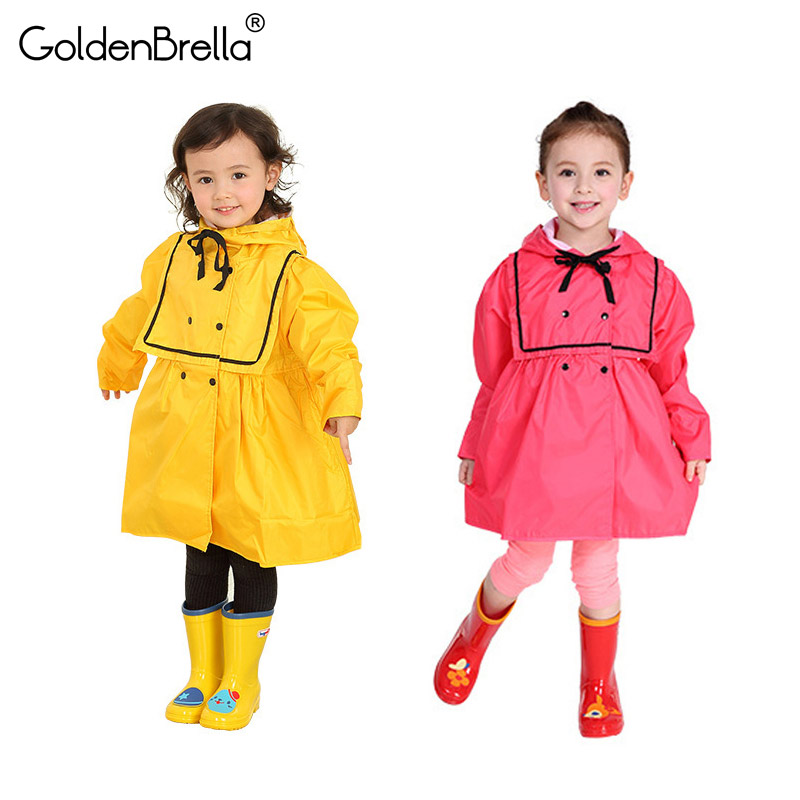 Kids Jumpsuit Waterproof Overalls Rain Pants Baby Boy And Girl Patchwork Clothes