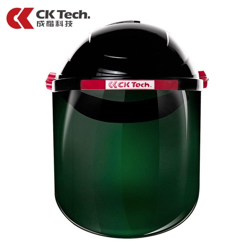 CK Tech.Protective Welding Mask Helmet Grinding Welder Masks TIG ARC Welding Cap Anti-UV Light-weight Safety Welding Shield