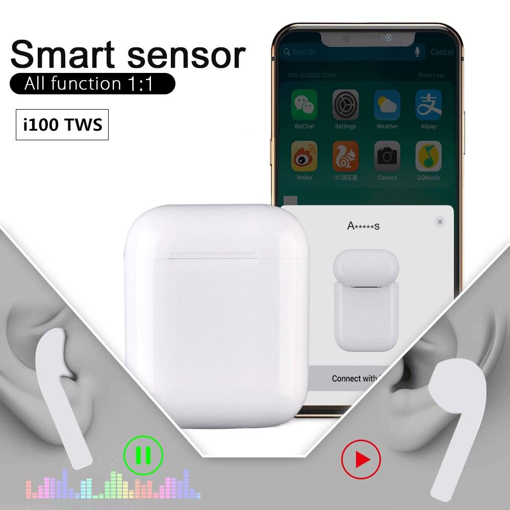 Original-I100-1-1-Air-TWS-5-0-Bluetooth-Earphones-Earbuds-XY-Wireless-PK-w1-chip