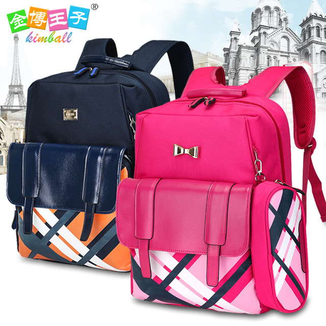 School Bags for Boys Girls Children Backpacks Primary Students Backpack  Waterproof Schoolbag Kids Mochila Infantil Zip 28882f41186c5