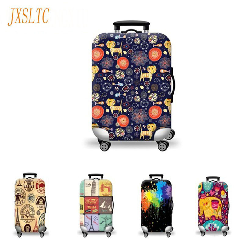 Waterproof Elastic Luggage Protective Covers Of 20 To 30 Inch Trap Bag Dustproof Protect Travel Trolley Cases For Suitcase Cover