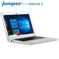 Джемпер Ezbook 2 ноутбука 14,0 ''светодиодный FHD Ultrabook Тетрадь Windows 10 Intel Cherry Trail X5 Z8350 4 ядра 4 ГБ 64 ГБ Тетрадь