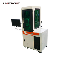 Glass cabinet cover fiber laser marking machine system