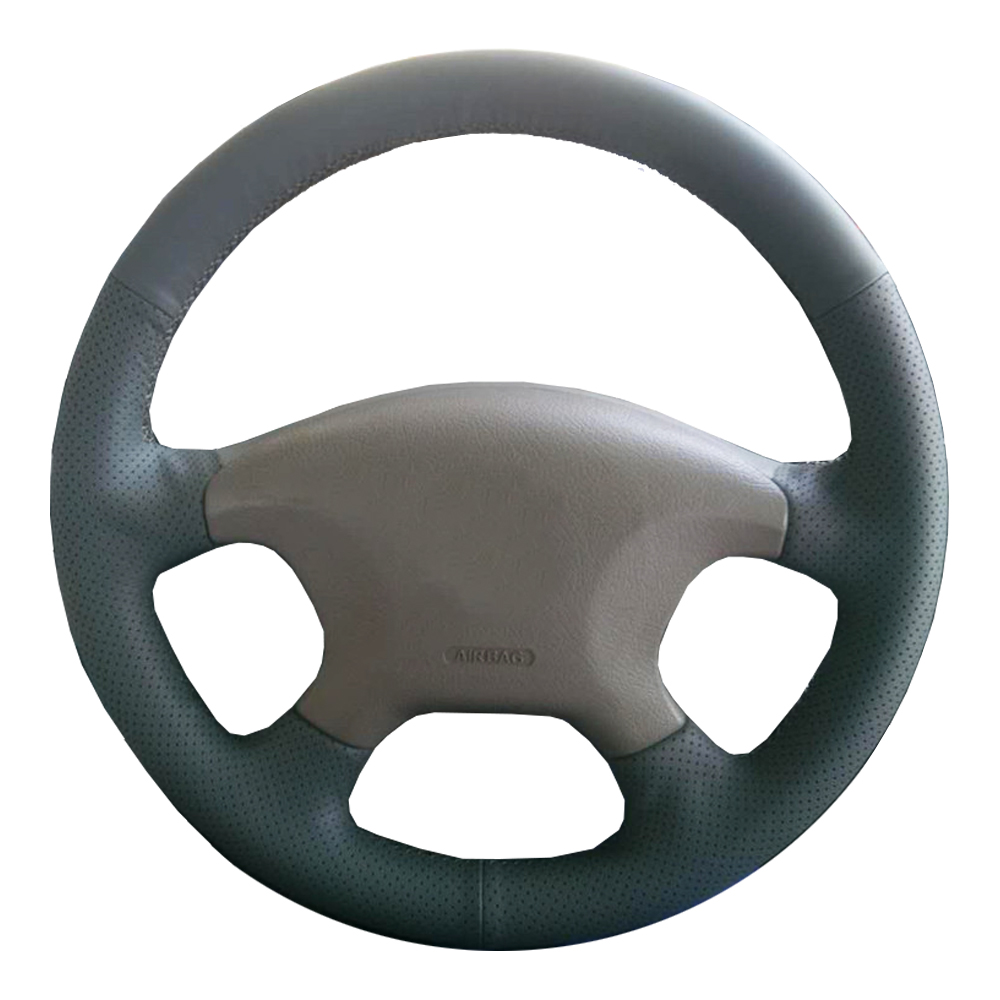 где купить Genuine Leather car steering wheel Cover for Citroen Elysee c-elysee Citroen Xsara Picasso/Steering-Wheel Handlebar Braid по лучшей цене