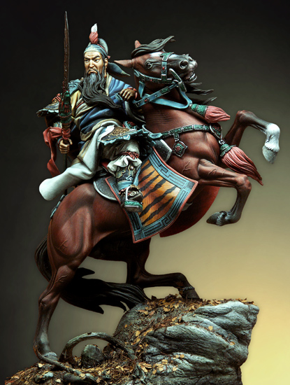 Resin Kits  1/9 Scale The three Iliad guan yu  90mm   Resin Model DIY TOYS resin assembly kits 1 9 200mm police girl 200mm unpainted kit resin model free shipping