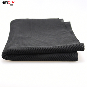 Image 3 - HIFIDIY LIVE Speaker Grill Cloth Stereo Fabric Gille Mesh Cloth Speaker Protective Accessories  Black 1.5*0.5