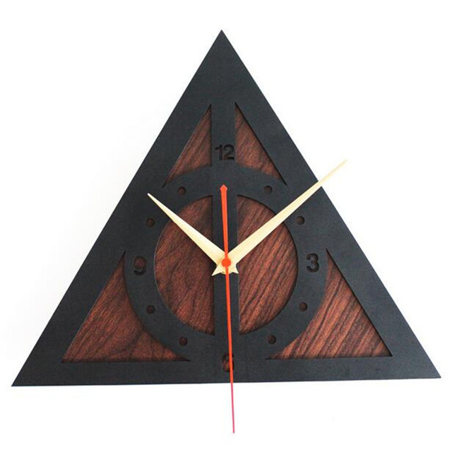 PINJEAS Special Wood Decorations Kids Room/Bedroom Wall Clocks Retro Birthday For Kids Gifts Ornament Clock Decorative