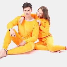 Комплекты термобелья для мужчин и женщин зимние теплые кальсоны
