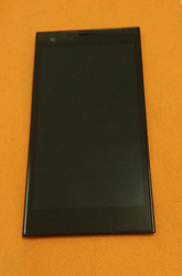 Używany oryginalny ekran z wyświetlaczem LCD + ekran dotykowy + ramka do Cubot S308 5.0
