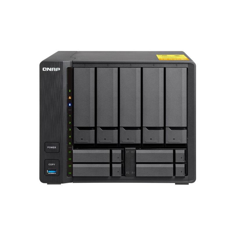 QNAP TS-932X 8G mémoire 9 baies sans disque nas, serveur nas nfs stockage réseau stockage en nuage, 2 ans de garantie