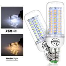 CanLing E27 LED Bulb 220V Ampoule Led E14 Bombillas Led Candle Lamp Corn 2835 SMD 5730 30 36 48 56 69 89 102LEDs Chandelier Home цена