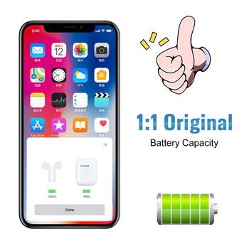 i60 TWS Pop up 1:1 Replica Separate Use Qi Wireless Charging Bluetooth 5.0 Earphone Bass Earbuds i30 PK Pods i20 i10 TWS W1 Chip 1