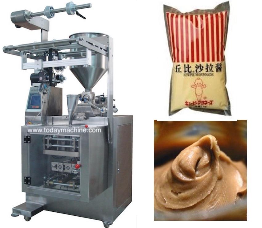 Automatique 500g, 1000g riz/grain/légumineuses/maïs/machines d'emballage alimentaire avec système de cellule de chargement