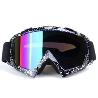 Men Women Skiing Goggles For Winter Snowboarding Motorcycle Riding Windproof Goggles Sunglasses Anti Fog UV400 Eye