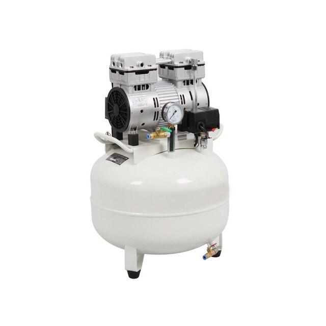 Новый медицинский бесшумный безмасляный стоматологический воздушный компрессор One Driving One 30L
