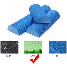 New Half Round EVA Yoga Foam Roller Roll Massage Floating Point Fitness Exercise Blocks 30/45/60cm