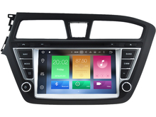 Octa(8)-Core Android 6.0 CAR DVD player FOR HYUNDAI I20 2015 Left car audio gps stereo head unit Multimedia navigation