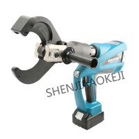 Rechargeable hydraulic cable cutter BZ 65C/85C/105C Wire and cable cutter 18V lithium ion battery LCD display 1pc